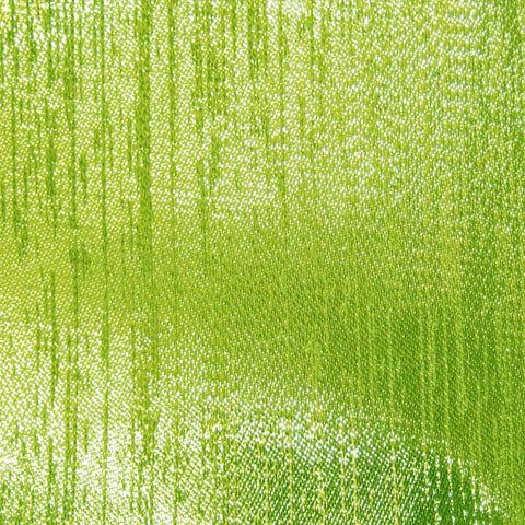 Polyester Metallic Lame 12 Lime