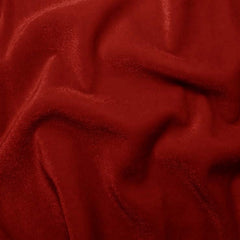 Polyester Stretch Velvet 12 Red