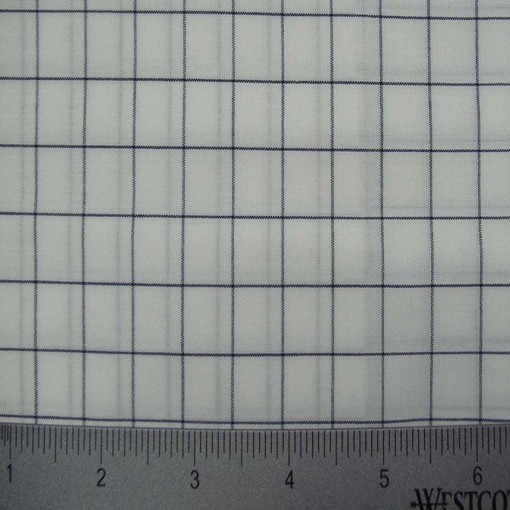 100% Cotton Fabric Checks Collection #3 12 Y D8355NVY - NY Fashion Center Fabrics