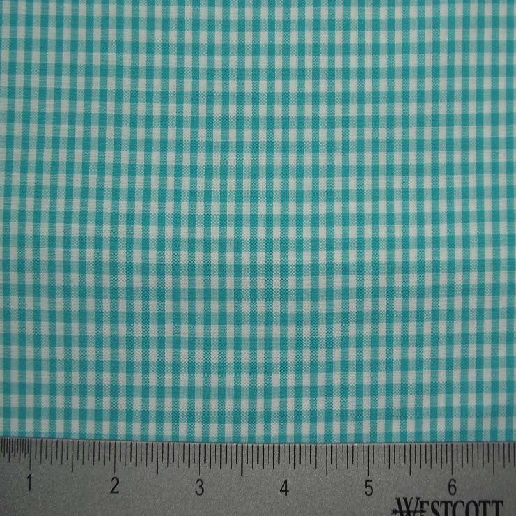 100% Cotton Fabric Checks Collection #4 12 Y D9835TRQ - NY Fashion Center Fabrics