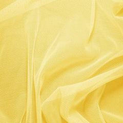 Nylon/Spandex Sheer Stretch Mesh 12 Yellow - NY Fashion Center Fabrics