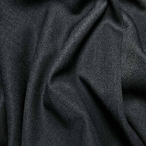 Wool Elastique Blend Fabric 120 Cadet