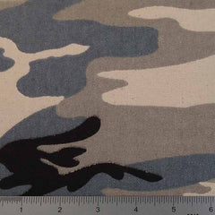 Cotton Camouflage Canvas 20 Yard Bolt 121502 Gray - NY Fashion Center Fabrics