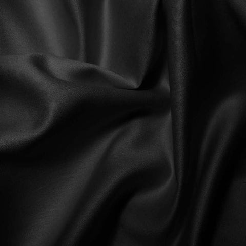 Pima Cotton Sateen - 20 Yard Bolt 13 Black