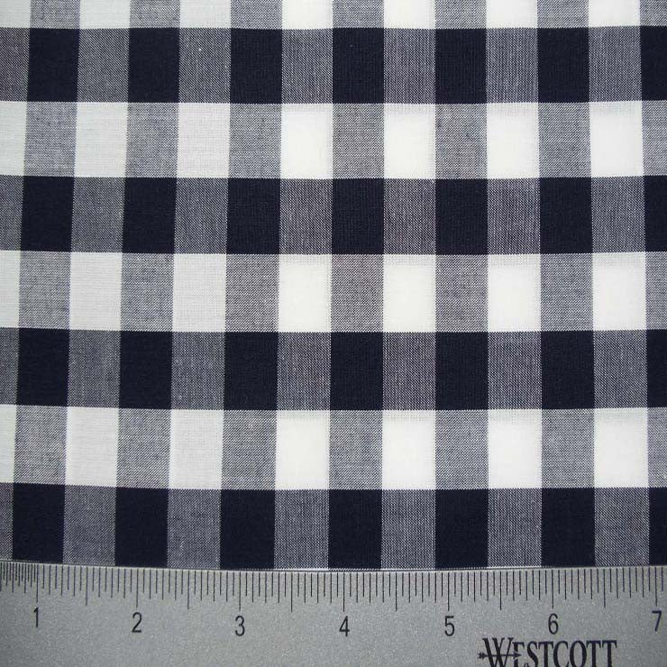 100% Cotton Fabric Checks Collection #2 13 KO 3449 Y D3695 N W - NY Fashion Center Fabrics