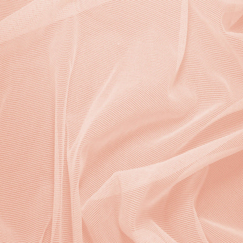 Nylon/Spandex Sheer Stretch Mesh 13 LightPeach