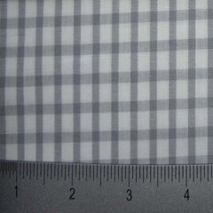 100% Cotton Fabric Checks Collection #6 13 Y D8357GRY - NY Fashion Center Fabrics