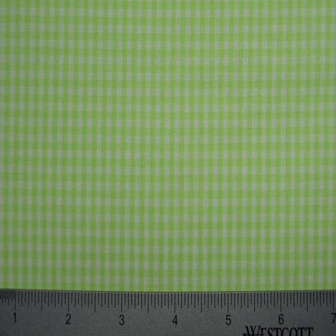 100% Cotton Fabric Checks Collection #4 13 Y D9835LIM - NY Fashion Center Fabrics