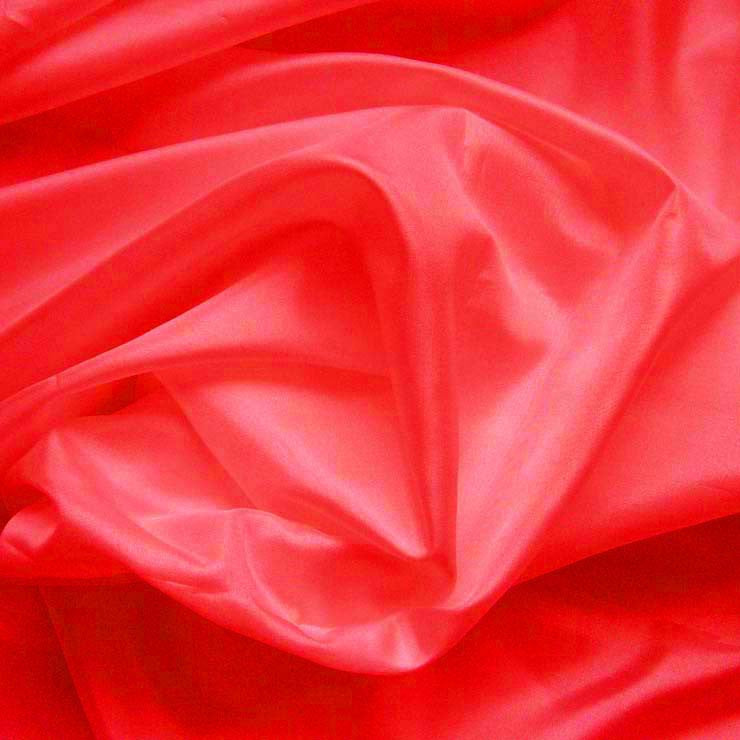 Polyester China Silk 130 Neon Red