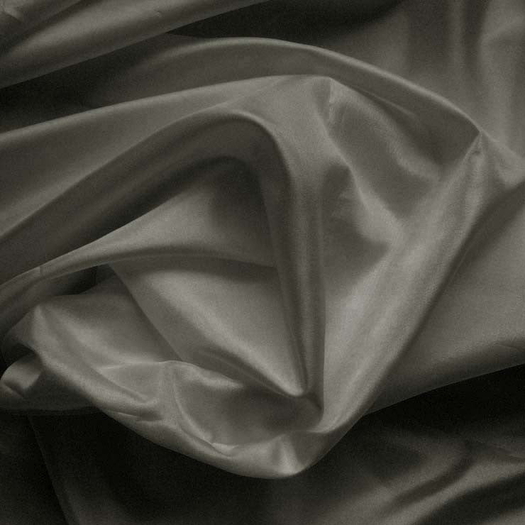 Polyester China Silk 137 Charcoal
