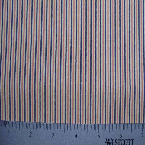100% Cotton Fabric Stripes Collection #6 137 Y D4524N M - NY Fashion Center Fabrics