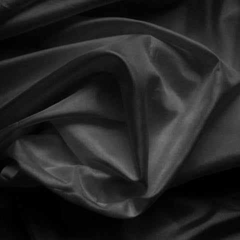 Polyester China Silk 139 Black