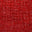 Open Weave Linen 14 Crimson Red