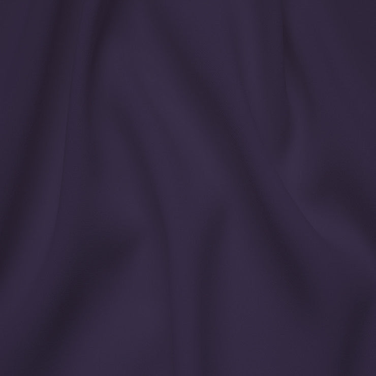 Polyester Stretch Crepe Jersey 14 Eggplant