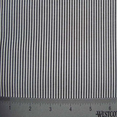 100% Cotton Fabric Stripes Collection #1 14 KO 3135 Y D8460BLK - NY Fashion Center Fabrics