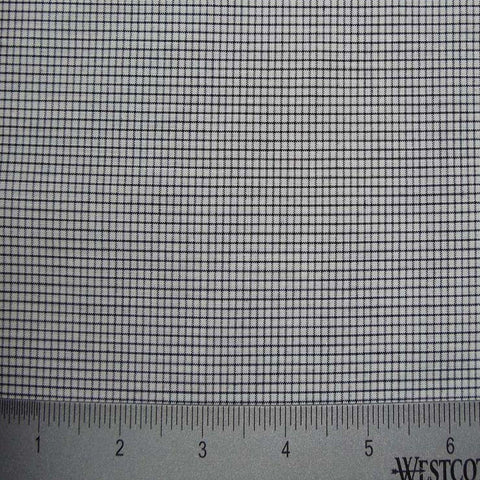 100% Cotton Fabric Checks Collection #2 14 KO 3451 Y D8015BLK - NY Fashion Center Fabrics