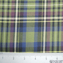 100% Cotton Fabric Checks Collection #5 14 KO 3483 FLN5006G N - NY Fashion Center Fabrics