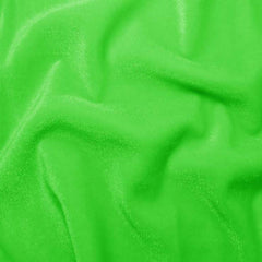Polyester Stretch Velvet - 15 Yard Minimum 14 Lime