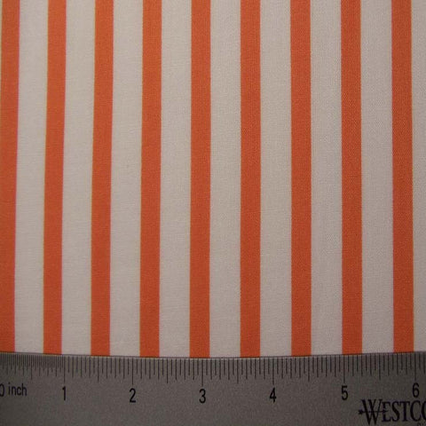 Cotton Striped Shirting #3 14 Orange - NY Fashion Center Fabrics