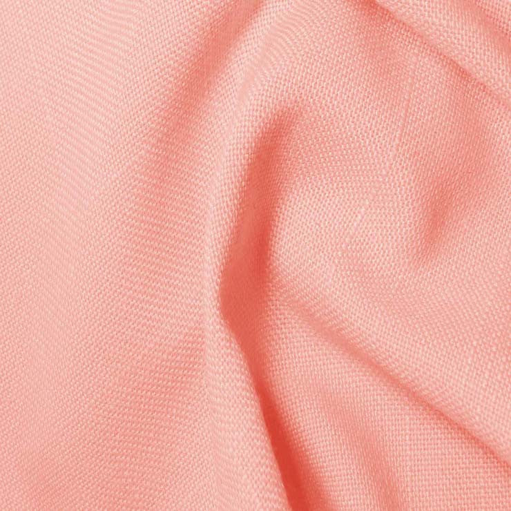 Polyester/Viscose Blend Linen Italiano 14 Pink