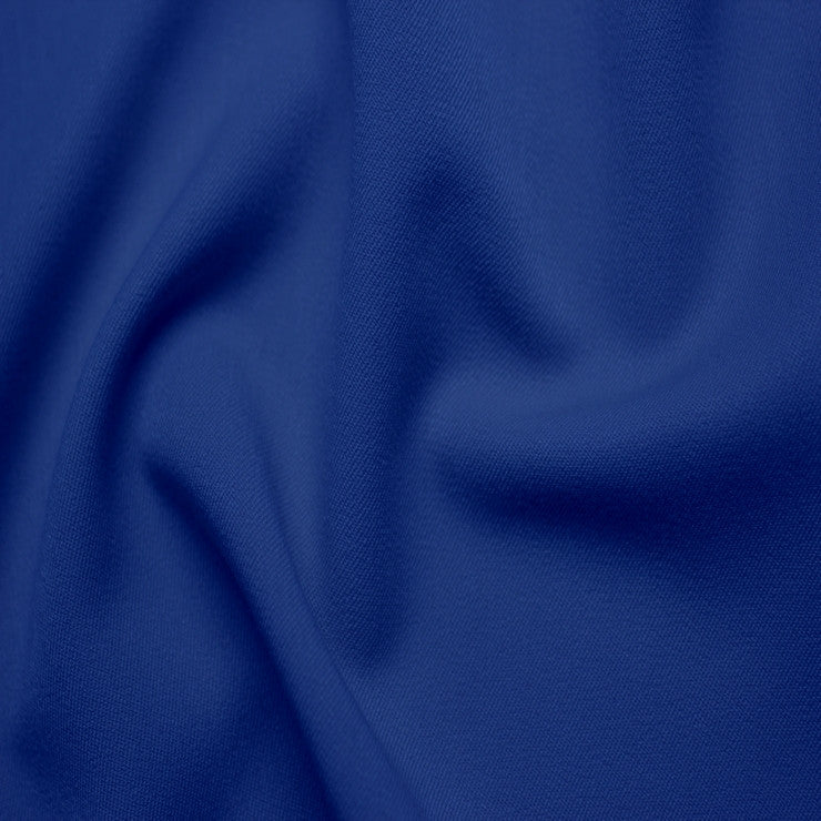 Poly/Rayon Blend Stretch Gabardine - 20 Yard Bolt 14 Royal