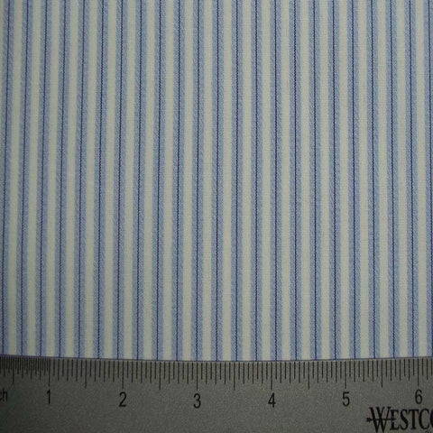 100% Cotton Fabric Stripes Collection #10 14 TWS0151BLU - NY Fashion Center Fabrics