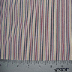 100% Cotton Fabric Stripes Collection #7 15 Y D2651MNT - NY Fashion Center Fabrics