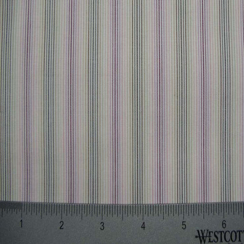 100% Cotton Fabric Stripes Collection #8 14 Y D4529P M - NY Fashion Center Fabrics