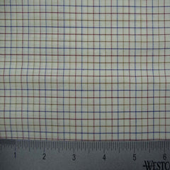 100% Cotton Fabric Checks Collection #3 14 Y D8146MUL - NY Fashion Center Fabrics