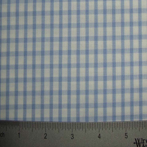 100% Cotton Fabric Checks Collection #6 14 Y D8357LBL - NY Fashion Center Fabrics