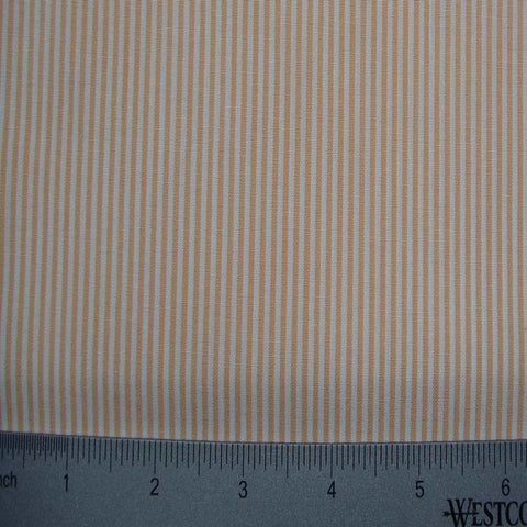 100% Cotton Fabric Stripes Collection #11 14 Y D8460ORA - NY Fashion Center Fabrics