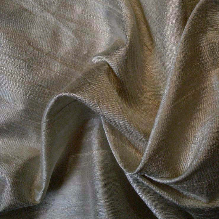 Silk Dupioni 140 Gray