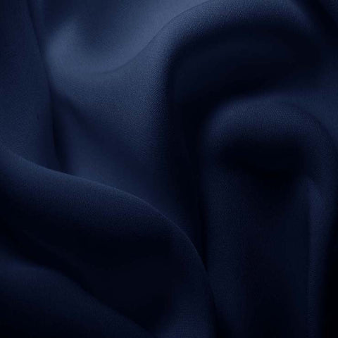 Silk Double Georgette Royal Blue