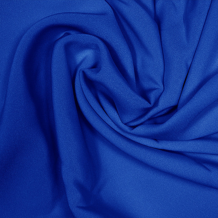 Silk Stretch 4 Ply Crepe Royal Blue