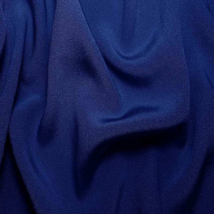 Silk Crepe Back Satin Royal Blue
