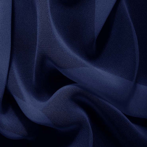 Silk Chiffon Royal Blue