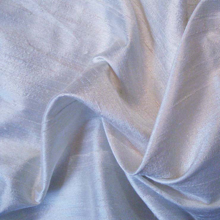 Silk Dupioni 149 Botticelli Blue