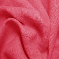 Heavyweight Linen 15 Coral - NY Fashion Center Fabrics