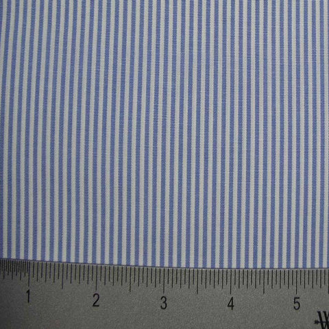 100% Cotton Fabric Stripes Collection #1 15 KO 3135 Y D8460BLU - NY Fashion Center Fabrics