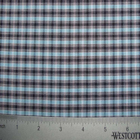 100% Cotton Fabric Checks Collection #1 15 KO3173 YD 9311B B - NY Fashion Center Fabrics