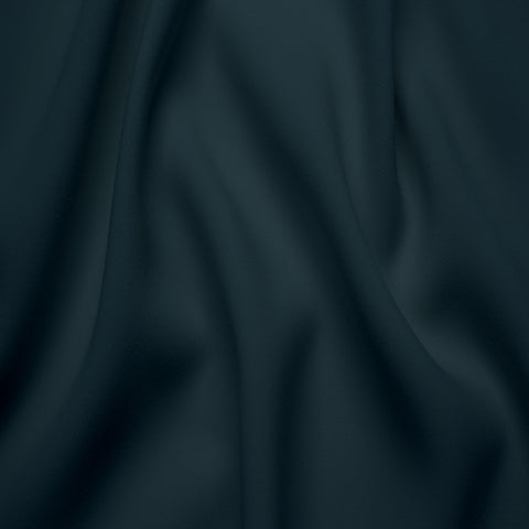 Polyester Stretch Crepe Jersey 15 Midnight Navy