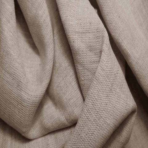 Medium Weight Linen - 6.5-oz 15 Natural - NY Fashion Center Fabrics