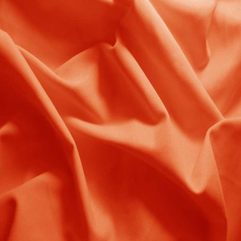 Nylon/Spandex Matte Milliskin 15 Orange - NY Fashion Center Fabrics