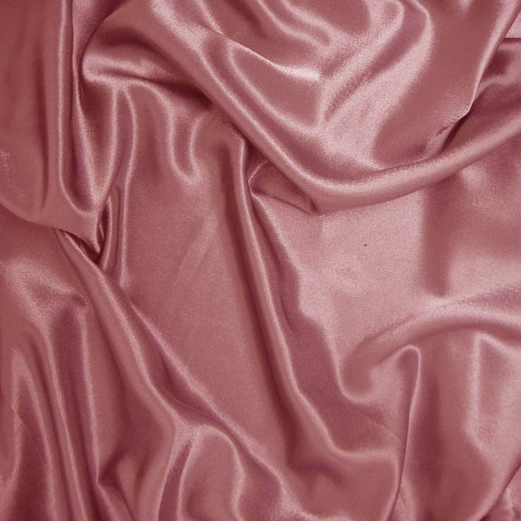 Polyester Crepe Back Satin 15 Rose