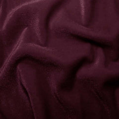 Polyester Stretch Velvet 15 Wine