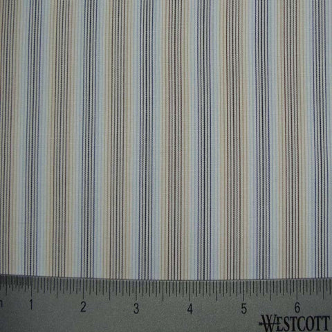 100% Cotton Fabric Stripes Collection #8 15 Y D4529B M - NY Fashion Center Fabrics