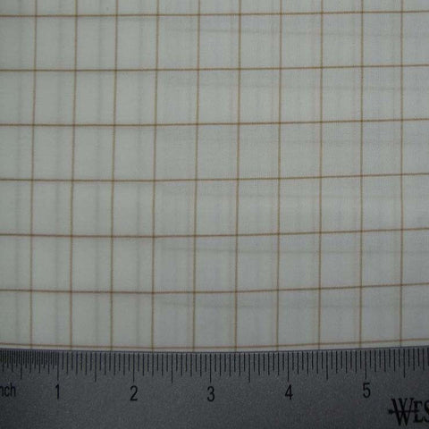 100% Cotton Fabric Checks Collection #3 15 Y D8355KHA - NY Fashion Center Fabrics