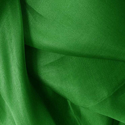 Silk Organza Lime Green