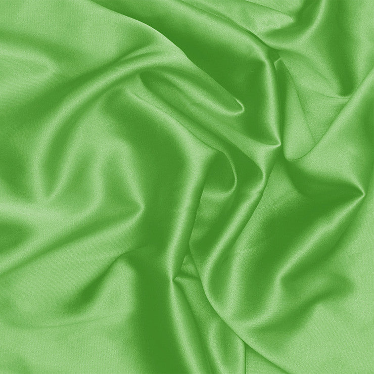 Silk Stretch Charmeuse Lime Green