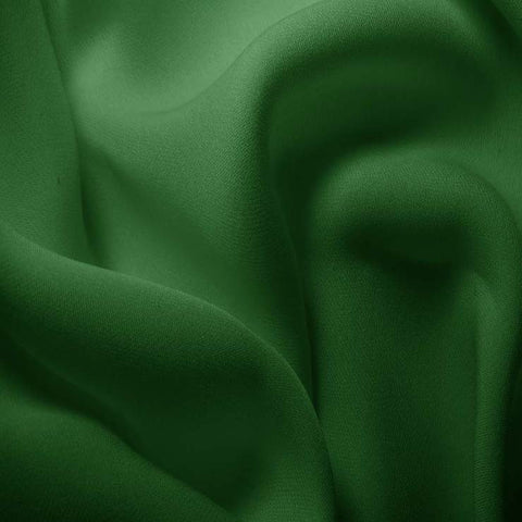 Silk Double Georgette Lime Green
